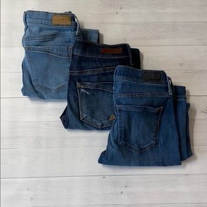 Lot of Express Jeans size 2S